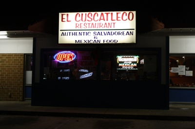 El Cuscatleco - Authentic!