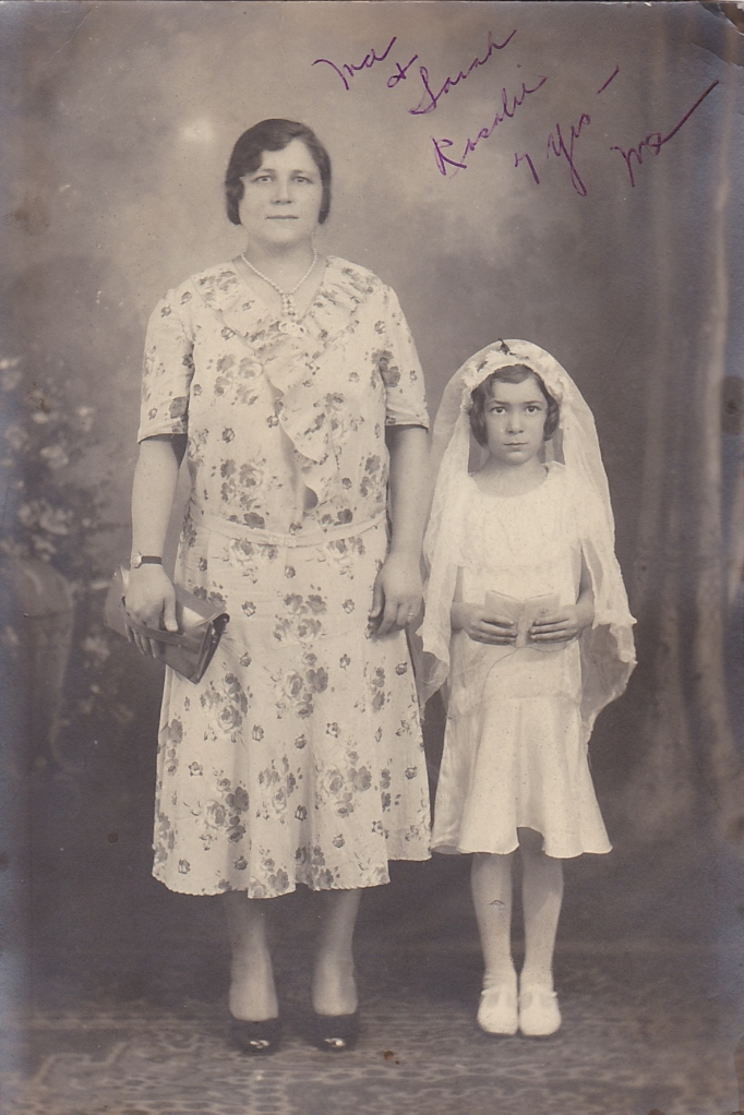 My great-grandmother and my nana