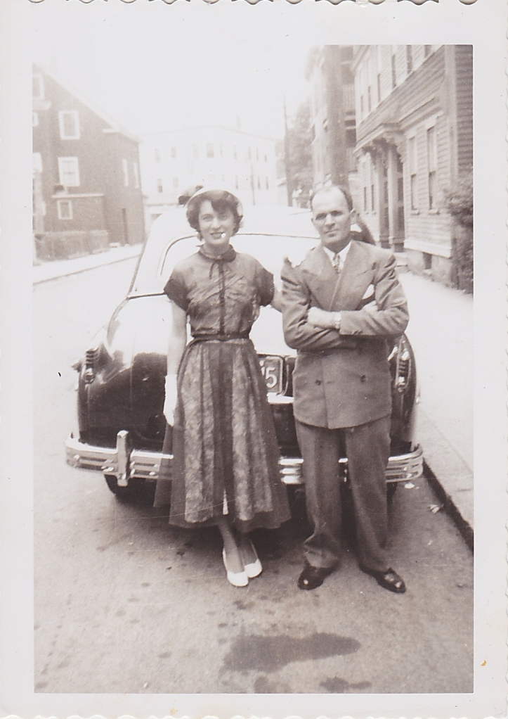 My great-grandfather and grandmother in Boston