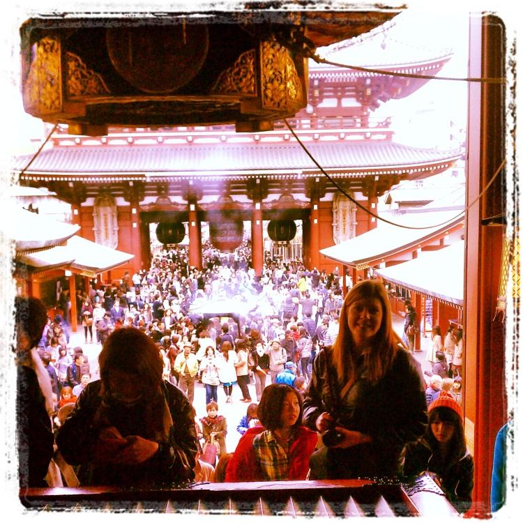 Me at the Asakusa Shrine