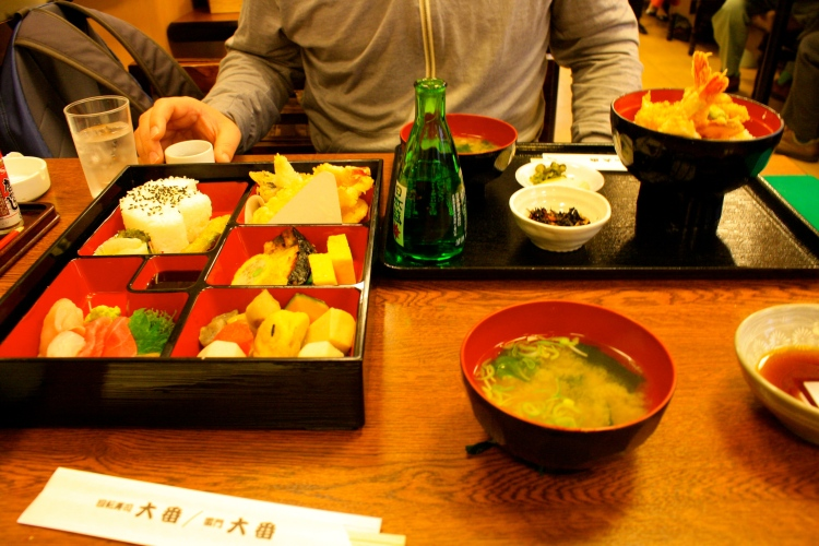 Traditional Japanese meal