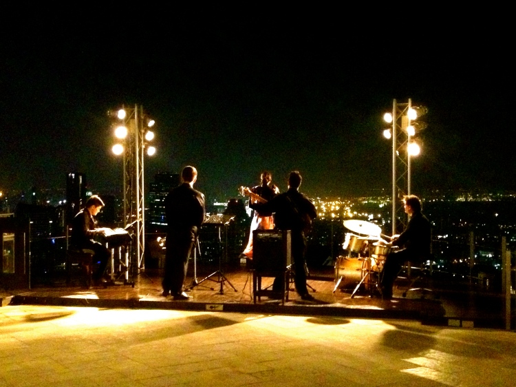 Live band at the Sky Bar