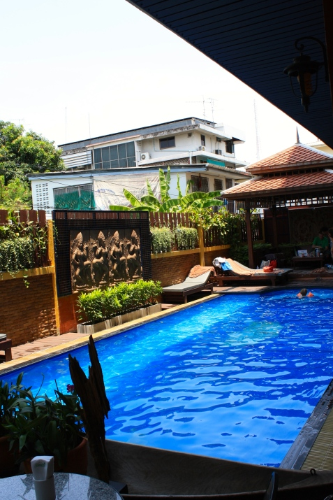 Lamphu Tree House Hotel's pool