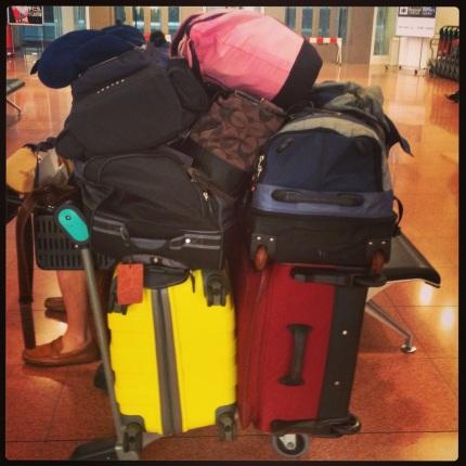 Luggage...whoa!