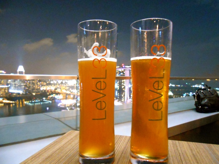 Specialty brews at Level 33