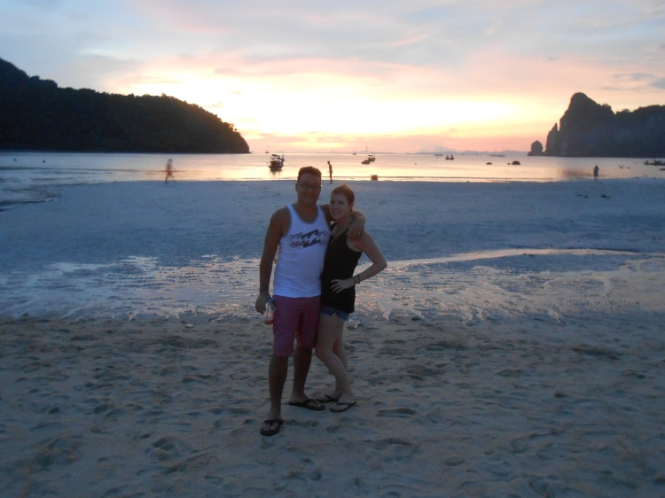 Our first night island hopping in South Thailand