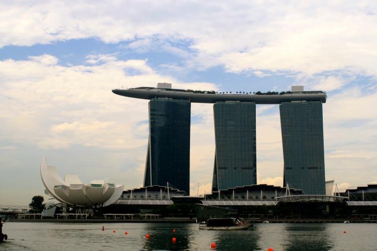 Marina Bay Sands Hotel - Look at this building!