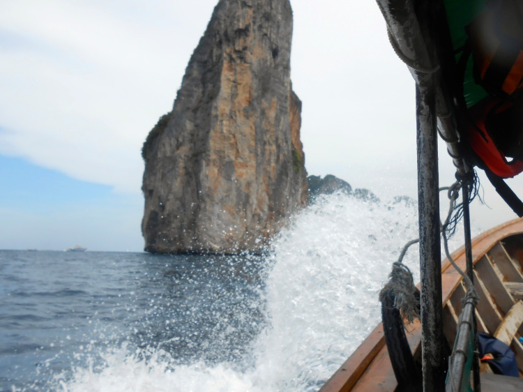View from our longtail excursion