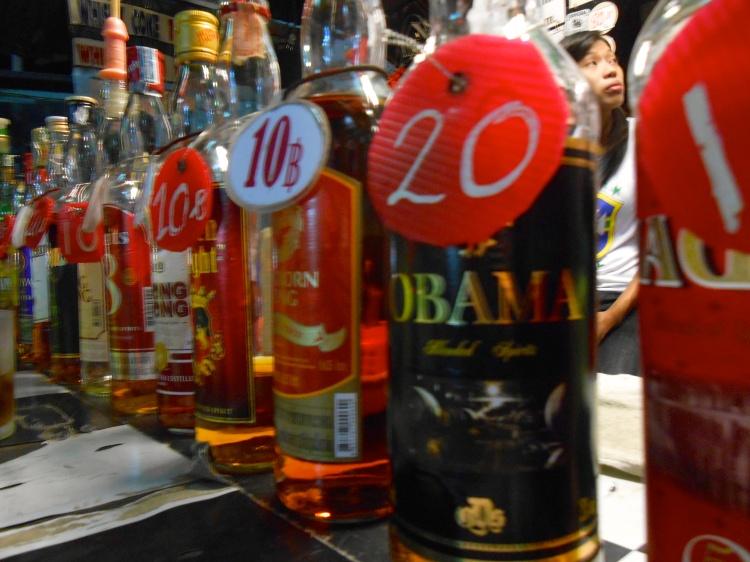 ...even some Obama whiskey