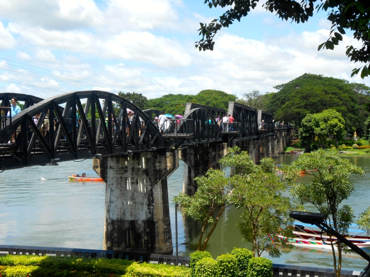 Kanchanaburi Death Railway Bridge