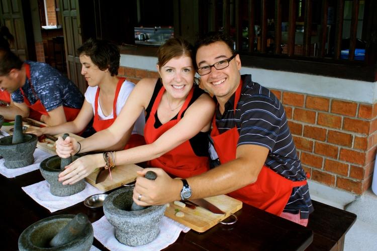 Sneak peak...Chiang Mai cooking class