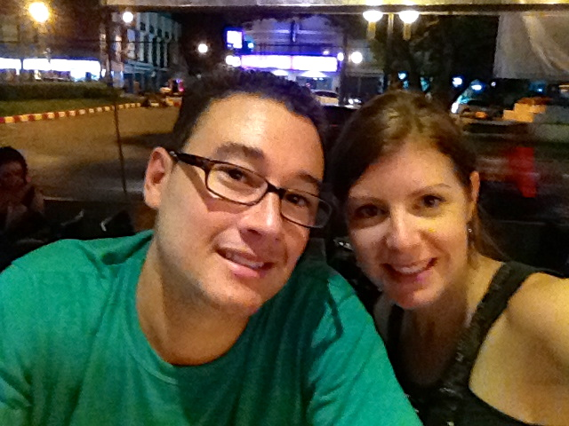 Dinner out in Chiang Mai