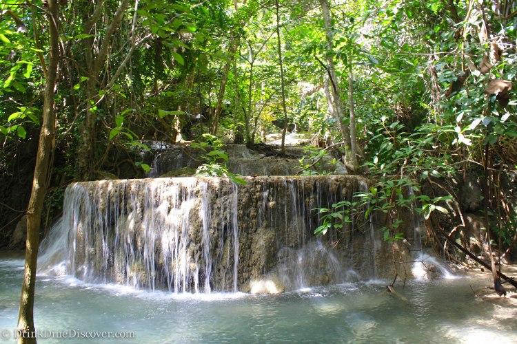 Kanchanaburi waterfalls