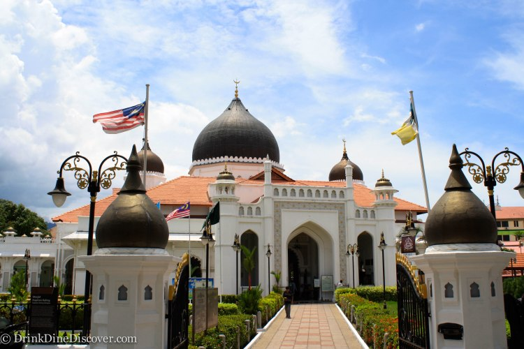 A mosque that I wanted to visit but there was a special event going on