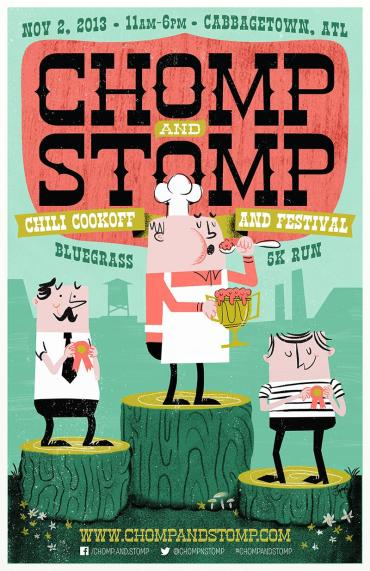 Chomp and Stomp, 2013