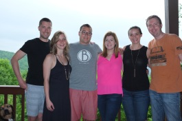 The crew in N. GA
