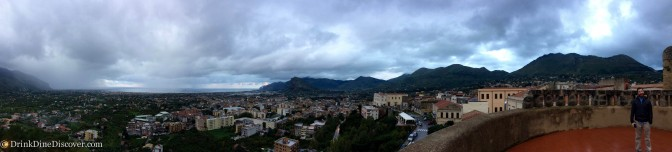 View from above of Palermo