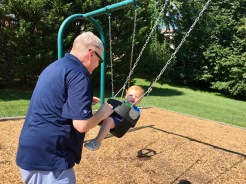 Swing time with Pa